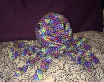 Crochetted Octopus