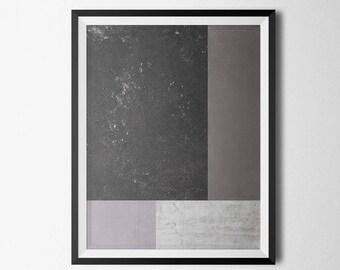 Color Block Abstract Print, Geometric Wall Art, Minimalist Art, Digital Wall Art, Printable Wall Art