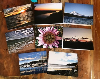 8 Beautiful Picture Note Card Set