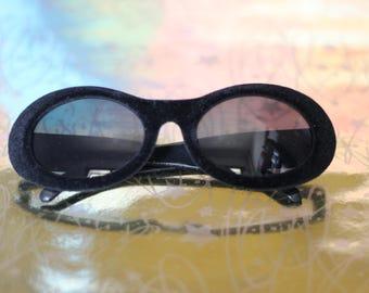 Oval Velvet Sunglasses