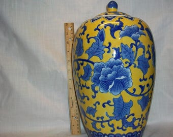 """Listing 092 is a Chinese Urn Vase 18"""" H"""