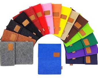 Tasche für eBook-Reader Hülle aus Filz Sleeve Schutzhülle für Kindle Kobo Tolino Sony Trekstor / Filztasche / Geschenk für Sie, Ihn / Filz