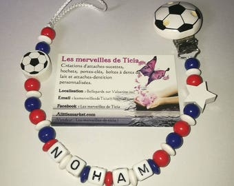 """Personalized pacifier """"France"""""""
