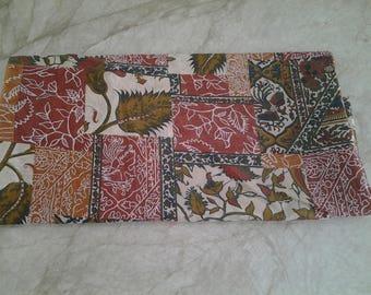 Cotton fabric multicolored 2 m 20