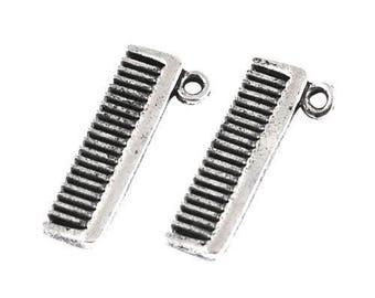 Silver Comb Etsy