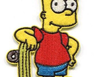 FUSIBLE APPLIQUE: Simpson 100 * 55mm