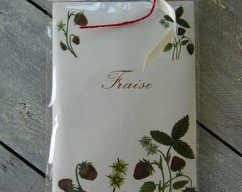 Strawberry scented sachet