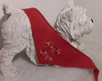 Bandana to tie your custom dog - XS - S - M