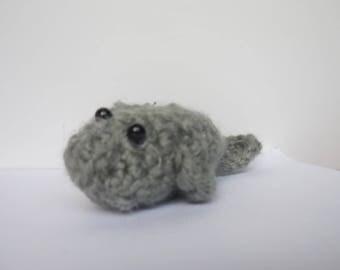 Crochet Manatee