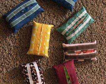 Handmade tissue holders