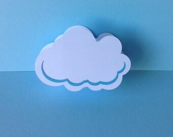 Box dragees baptism cloud