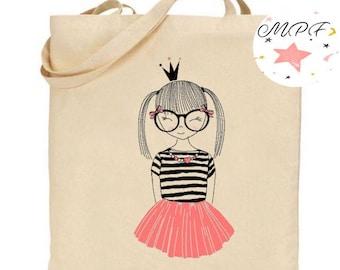 Tote bag girl dancer