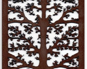 Tree of life - wood table cut