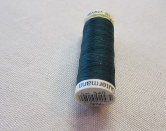 Green thread n 340 Gütermann 100% polyester