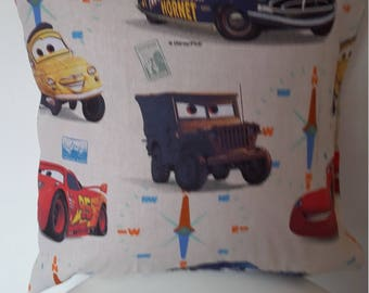 Disney Cars pillow cover / 40x40cm/child/kids gift decoration