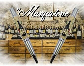"Ballpoint pen, ""Elegant Beauty twist"" range, inlaid"