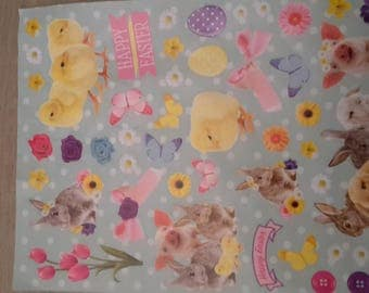 Stickers stickers Easter scrapbooking