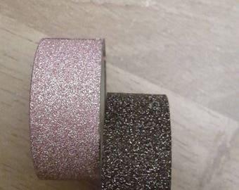 Washi tape glitter 2 X