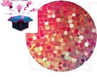 1 cabochon clear 18 mm theme design