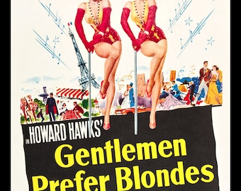 0058 Gentlemen Prefer Blondes - Marilyn Monroe, Jane Russell