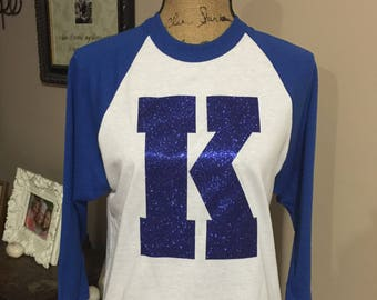Kentucky and Louisville Raglan tees