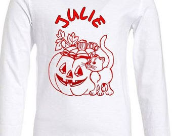 White T-shirt Halloween Special