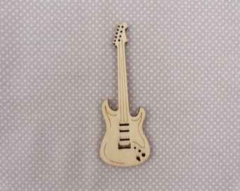 About wooden embellishment: electric guitar