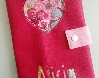 Health personalized leatherette Book * custom *.