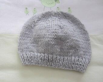"""Birth"" hat gray"