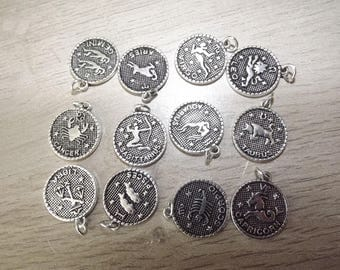 charms or pendants astrological signs