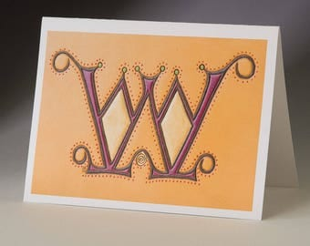 W - Vespasian Art Card
