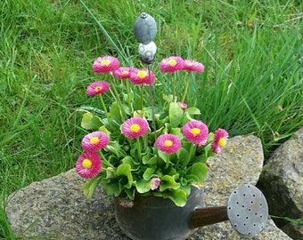 fibula of garden, gardener jewelry, Garden accent beads