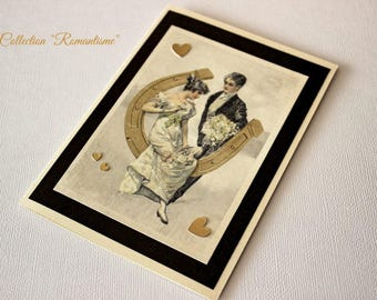 Romantic anniversary for your sweetheart (honest) card!