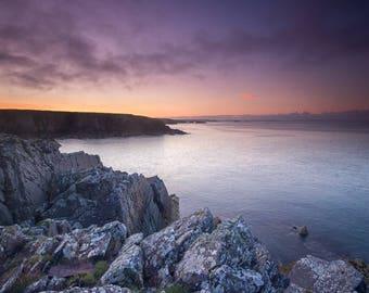 Porthclais Sunrise