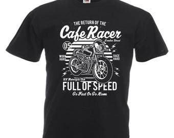 Café racer full speed t-shirt