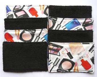Washable wipes remove makeup reusable wipes, eco-friendly wipes, makeup, wipe, her, gift