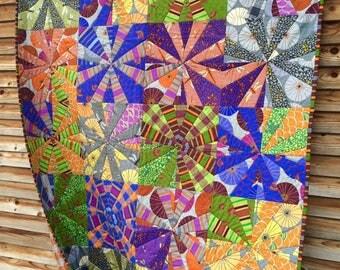 Sukiyaki quilt pattern from Aardvark Quilts
