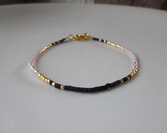 Beads miyuki and charm bracelet