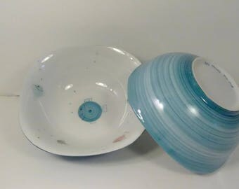 Cereal, kids, peacock blue Bowl