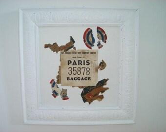 painting french label symbolizing france