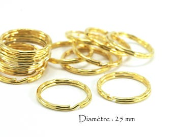 Double open rings (50 pcs)