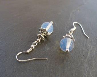 ♥ Moonstone, 925 Silver earrings, Christmas ♥