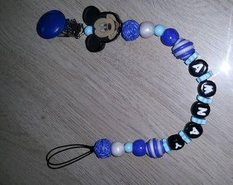 Pacifier mickzy to customize colors