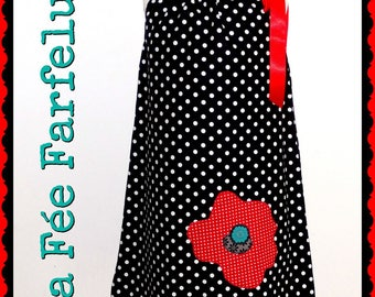 Dress * poppy * Ribbon 2-10 years
