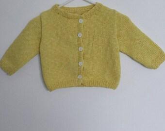 White Heather yellow vest