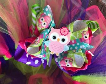 Custom Made 1st Birthday Tutu Hairbow set