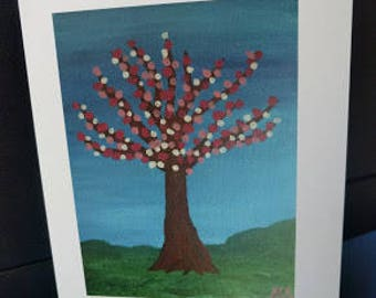 Fantasy Tree Greeting Card