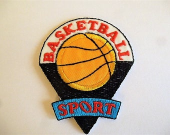 applique Basketballpour custimisation clothing or decoration and sports accessories sewing patch, badge 9027.3