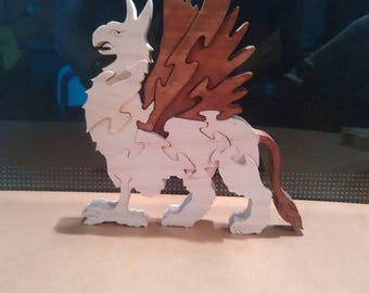 Mythical creature: griffon