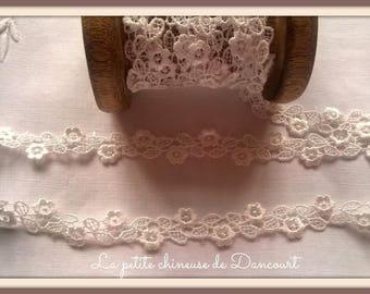 Off white guipure lace
